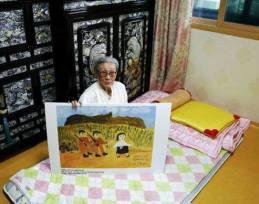 Kim Bok-dong, l'attivista dei diritti delle vittime di stupri di guerra in Corea.