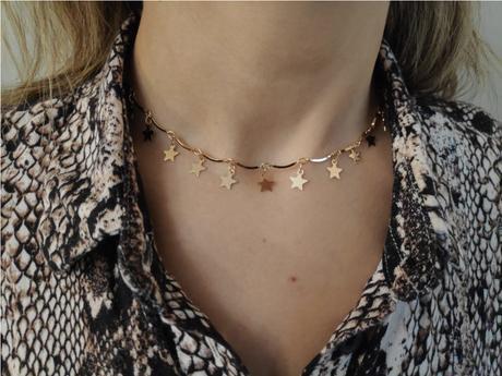 Aphrodite - collana con stelle. Un bijoux semplice, perfetto per tutti i vostri look