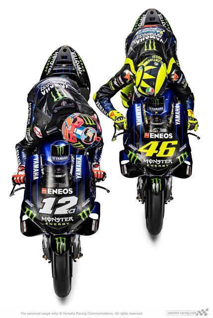 Yamaha YZR-M1 Team Monster Energy Yamaha MotoGP 2019