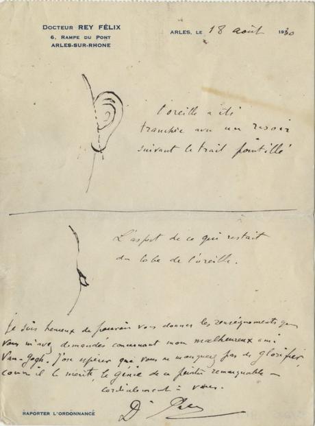 Van Gogh: Scoperto Come Si Mutilò L'Orecchio