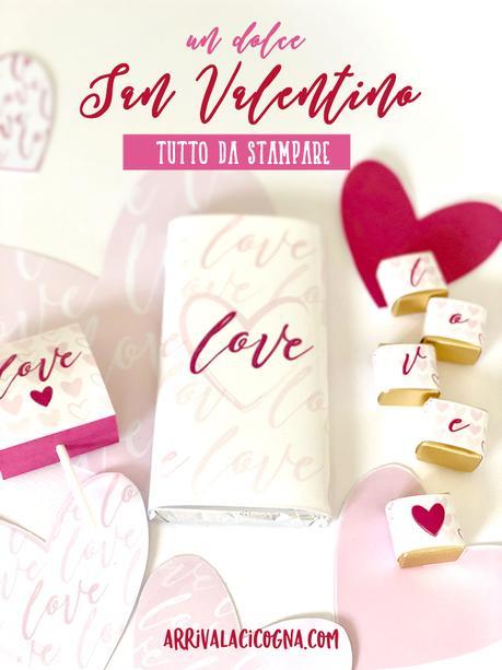 regali dolci personalizzati per San Valentino