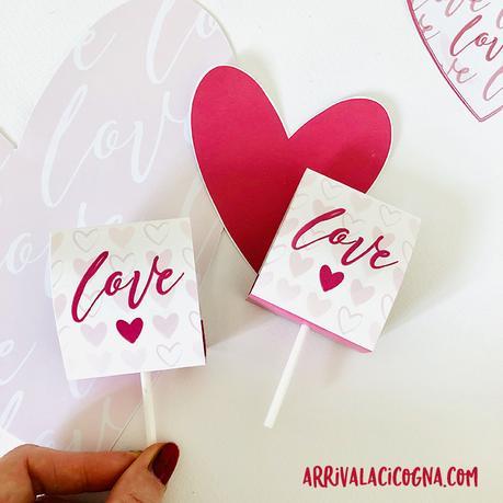 lecca lecca speciuali di san valentino da stampare