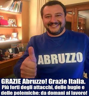 Il Centro Destra a trazione Salvini, è vincente!