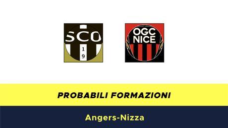 Angers-Nizza probabili formazioni