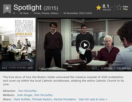 Il Caso Spotlight – Quando il giornalismo si fa denuncia e straordinario impegno civile!