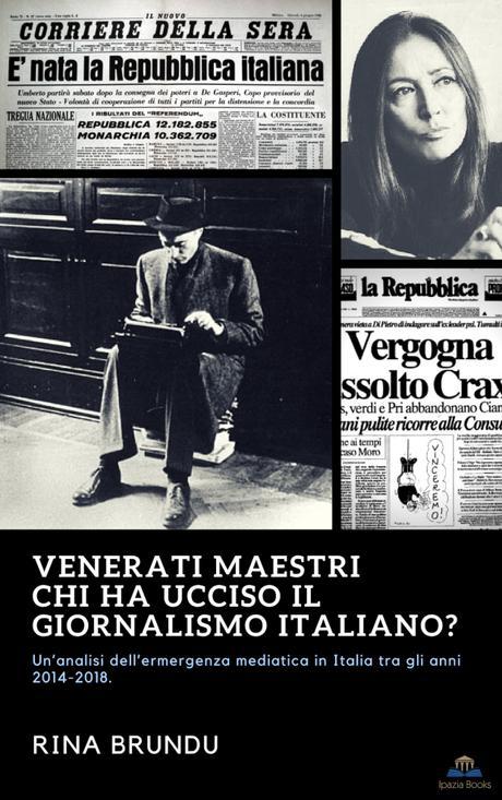 """Venerati maestri. Chi ha ucciso il giornalismo italiano? Le associazioni """"culturali""""."""