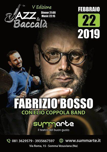 Somma Vesuviana: Fabrizio Bosso in scena al teatro Summarte