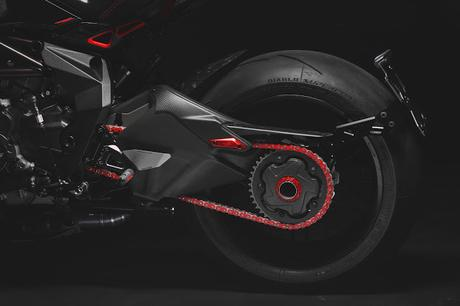 MV Agusta Dragster Blackout by Valter Moto Components