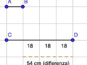 Problema svolto: calcolare lunghezza segmenti conoscendo differenza loro rapporto
