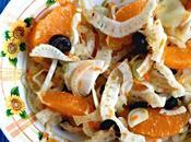 Insalata finocchi arance