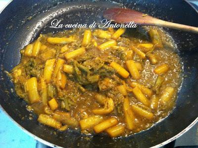 Filetto di maiale in crosta con crema di asparagi
