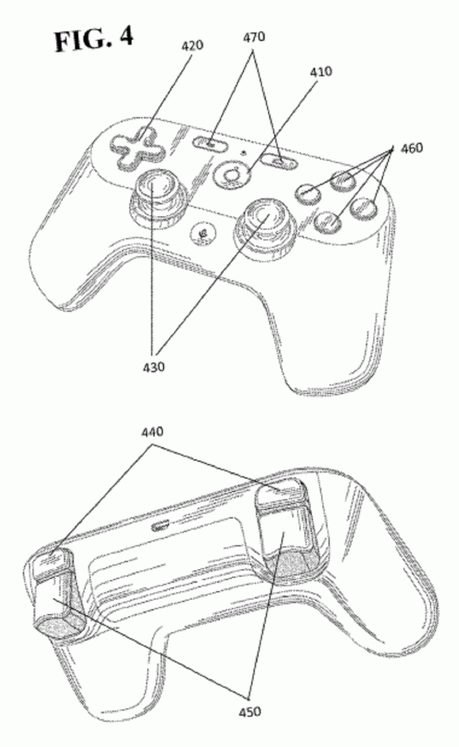 Console di Google, spuntano immagini del controller realizzate partendo dai brevetti ufficiali - Notizia