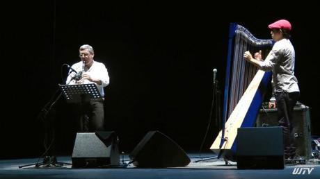 l'arpa llanera di Castaneda e il clarinetto virtuoso di Mirabassi alla Sapienza