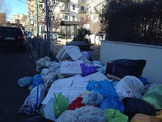 Torre Del Greco: non decolla la raccolta dei rifiuti