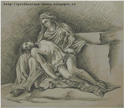 Schema a punto croce: Pietà_3