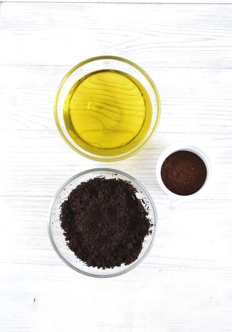 Scrub all'olio d'oliva e caffè