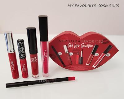 Sephora Favorites - Red Lips Selection