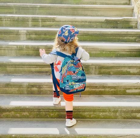 Vestiti per bambini Kenzo Kids: la collezione Wax sa di primavera e ispira buonumore