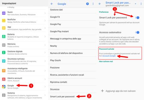 Come Vedere le password salvate su Android (WiFi e account)