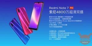 Xiaomi Redmi Note 7 Pro launch