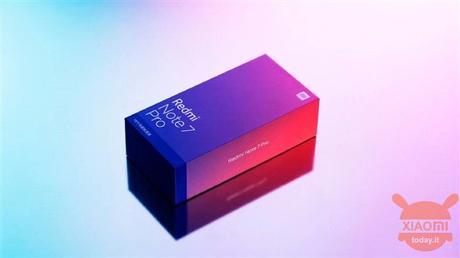 Redmi Note 7 Pro box