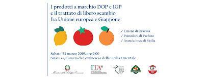 Arriverà giovedì 21 marzo, da Tokio una delegazione giapponese per scoprire i territori dove nascono i limoni di Siracusa IGP, le arance rosse siciliane IGP e i pomodori di Pachino IGP.