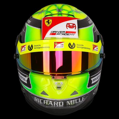 Schuberth SF2 Pro Mick Schumacher 2019 by Jens Munser Designs