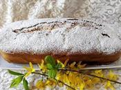 giorno primavera plum cake gigante panna fragola
