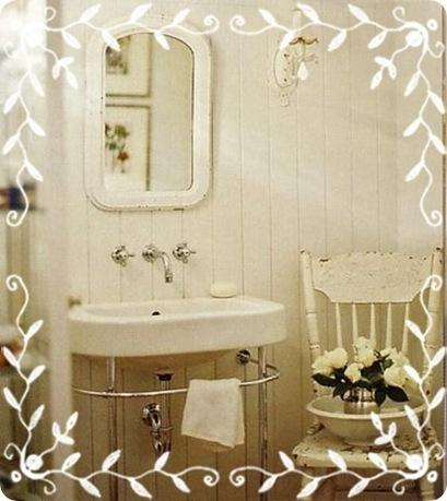Shabby chic on friday idee per un bagno very shabby - Bagno shabby chic ...