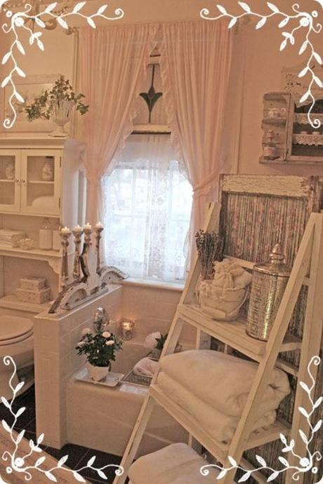 Fotos - Shabby Chic On Friday Idee Per Un Bagno Very Shabby