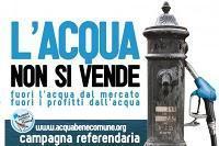 La privatizzazione dell'acqua e i referendum del 12-13 giugno 2011