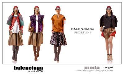 BALENCIAGA RESORT 2012