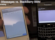 Videoconfronto iMessage (Apple) BlackBerry Messanger