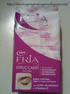 Fria - salviette struccanti ed esfolianti