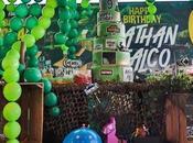 Gregoraci Briatore insieme compleanno Nathan Falco tema Fortnite outfit terribile)