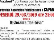 Chiesina Uzzanese Frazioni, venerdì marzo Capanna ultimo primi incontri nelle frazioni.