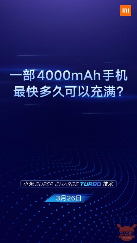 Xiaomi super charge turbo 100W