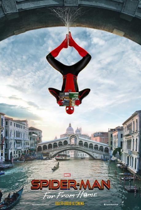 Spider-Man: Far From Home, svelati i tre poster internazionali - Notizia