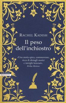 Da Il peso dell'inchiostro di Rachel Kadish