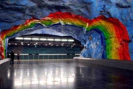 tour metro stoccolma tunnelbana