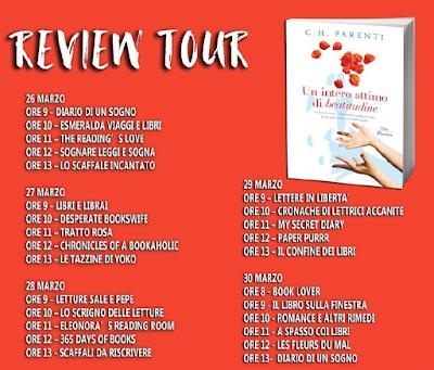 Un intero  attimo di beatitudine C.H. Parenti Review Tour