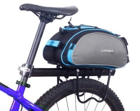 Borsa 13L, si aggancia al portapacchi della bicicletta: solo oggi a 17,08 euro