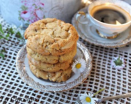 Cookies al cioccolato bianco e profumo d'arancia