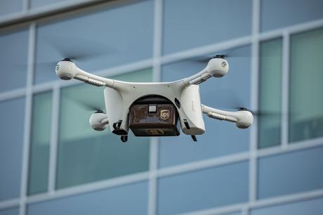UPS utilizzerà i droni per le forniture mediche nel North Carolina