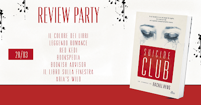Review Party: Suicide Club di Rachel Heng