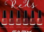 Faby's reds: capsule collection celebra smalto rosso
