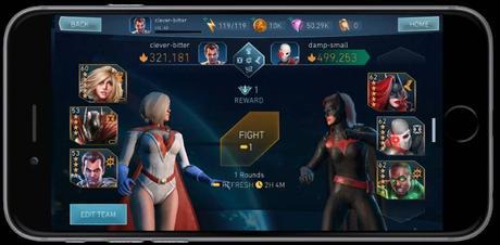 Injustice 2 Mobile, al via la beta della Champions Arena