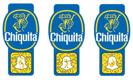 Preparatevi per la giornata mondiale della banana con Chiquita e Snapchat