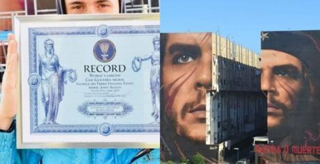 Jorit è nei Guinnes World Record: ha realizzato il murale più grande del mondo