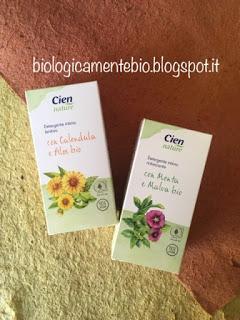 CIEN NATURE: DETERGENTE INTIMO (CALENDULA+ALOE BIO /// MENTA+MALVA BIO)